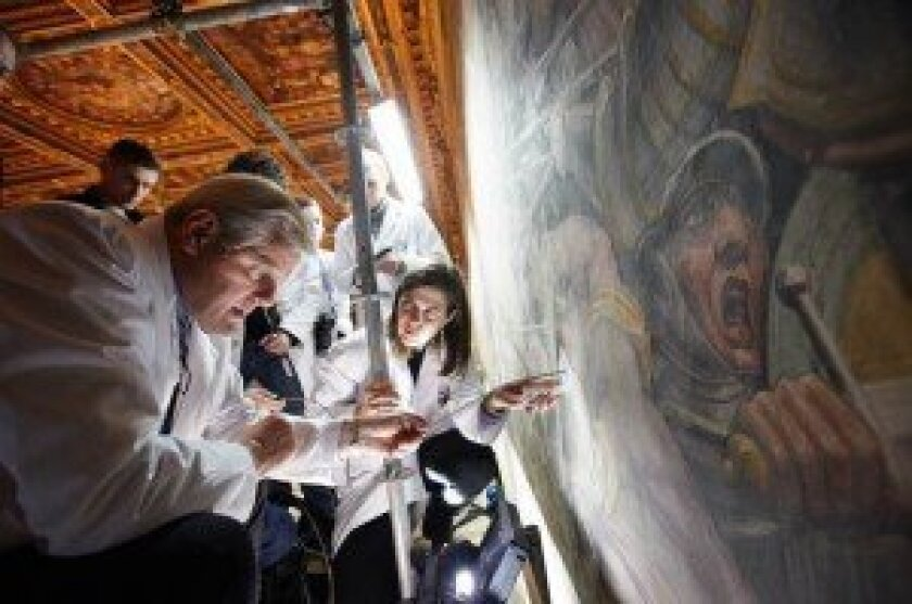 Art expert Maurizio Seracini will speak at the April 30 Village Viewpoints event. Courtesy photo