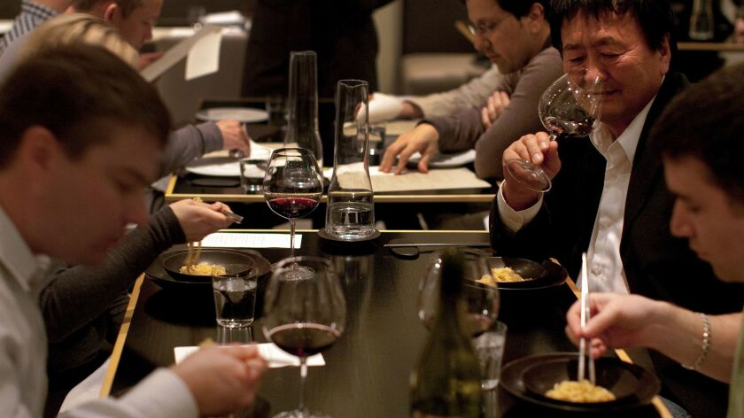 Probably not much to fear from the minimum wage: Diners at San Francisco's upscale fusion restaurant Benu, which receives a solid 4.5 stars on Yelp.