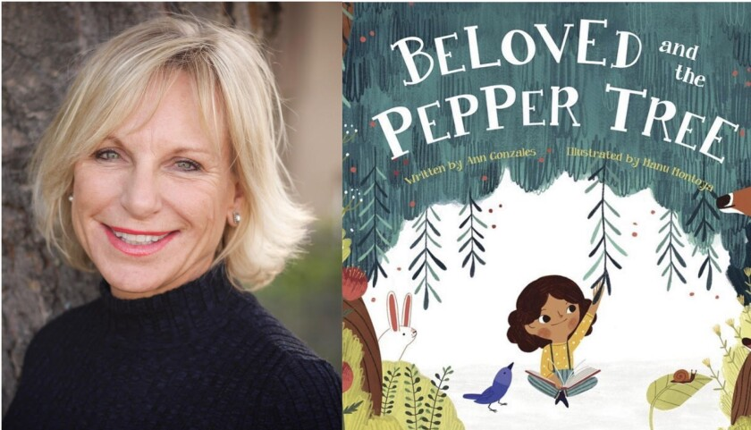 """Author Ann Gonzales and her new book, """"Beloved and the Pepper Tree"""""""