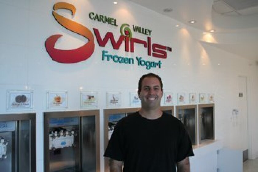 Carmel Valley Swirls owner Evan Wilensky. Photo/Karen Billing