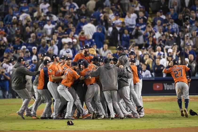 Houston Astros win