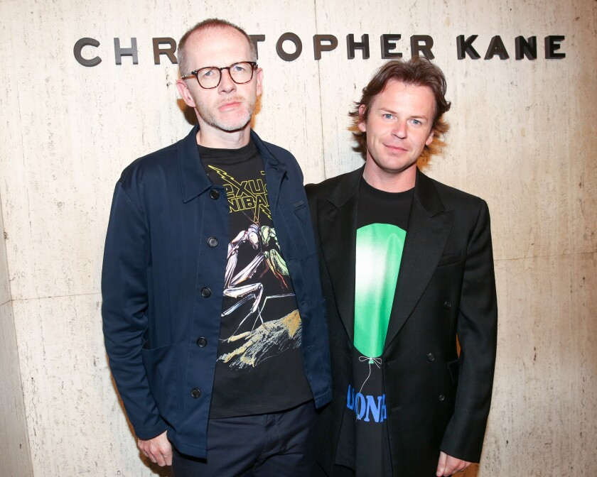 Christopher Kane Party: at Giorgio's