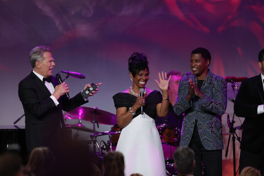"David Foster, Gladys Knight, Kenny ""Babyface"" Edmonds"