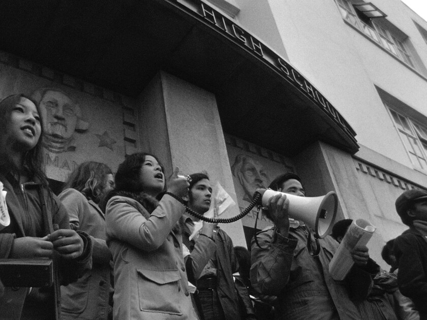 Decades after footage was shot, son helps father finish film documenting history of Chinese American activism