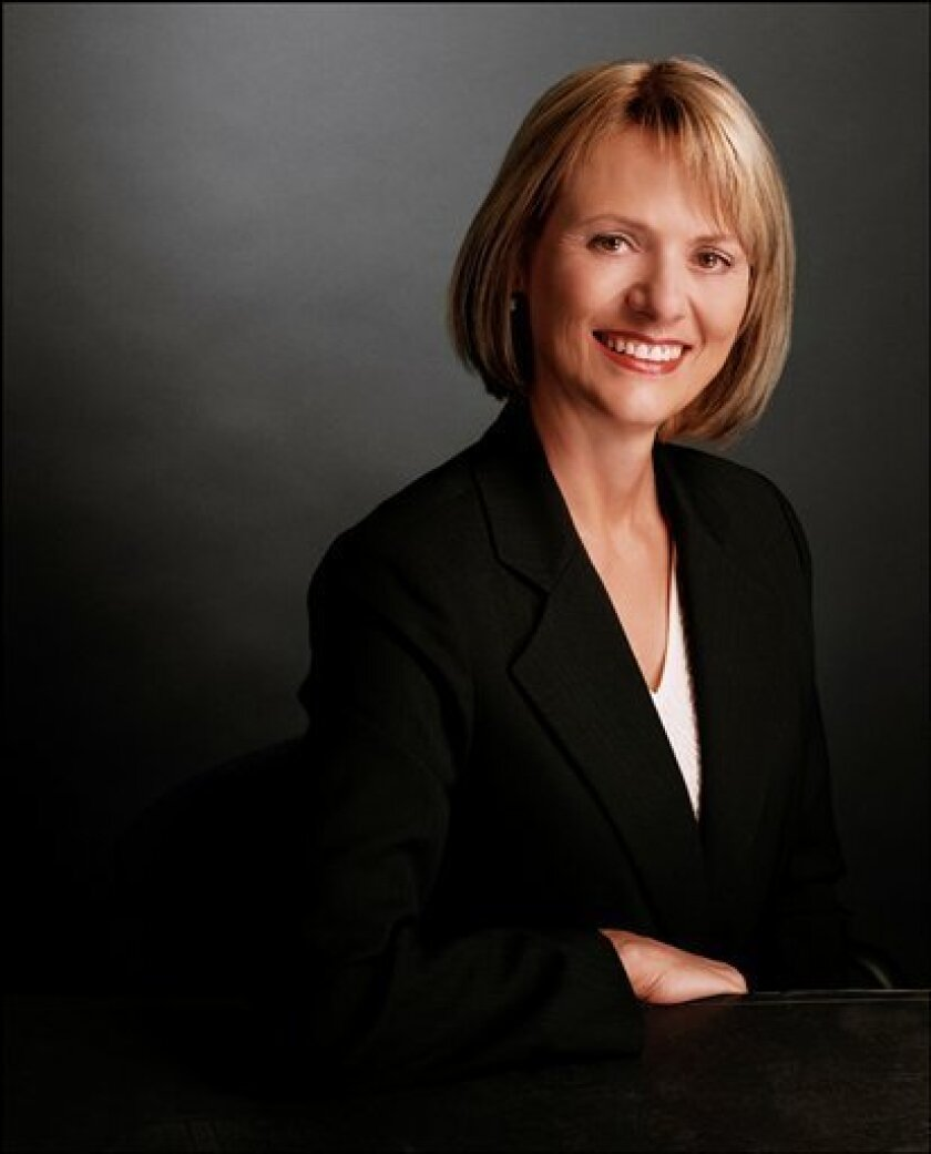 In this undated image provided by Autodesk Inc., Carol Bartz, executive chairman and then CEO of Autodesk, is shown. Yahoo Inc. appears to have settled on Bartz as its new chief executive, ushering in a no-nonsense leader known for developing a clear focus _ something that has eluded the struggling