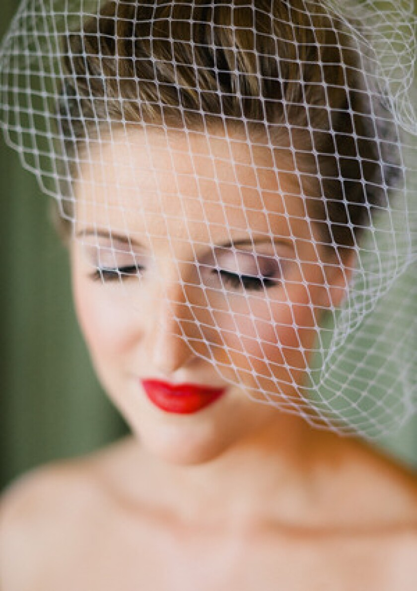 Birdcage veil by AniA Collection