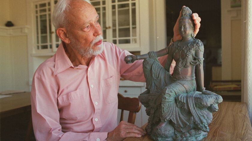 Huston Smith at his home in Berkeley in 1999.