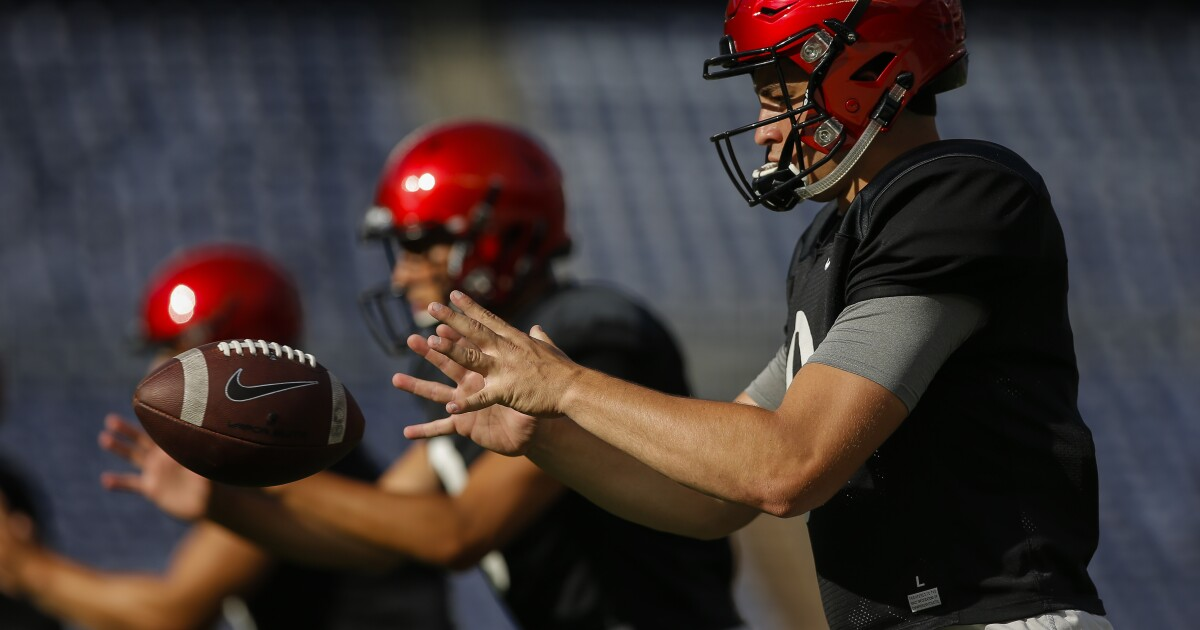 Aztecs Two Deep Football Roster Takes Shape With 2019 Opener A
