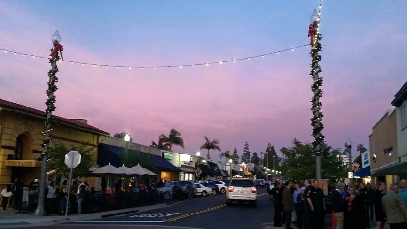 La Mesa Shimmer has become a popular event in the city.  Unlike Oktoberfest, which the city hopes to hand off to an outside entity to manage, La Mesa will continue to run the late autumn event.