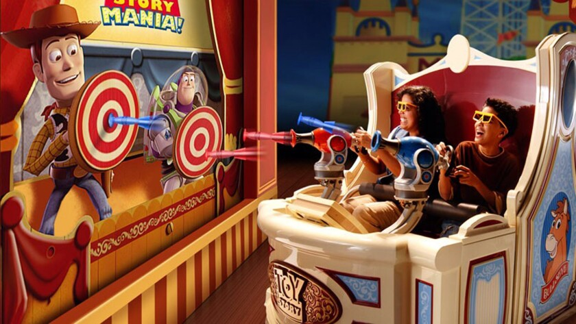 Toy Story Midway Mania at Disney