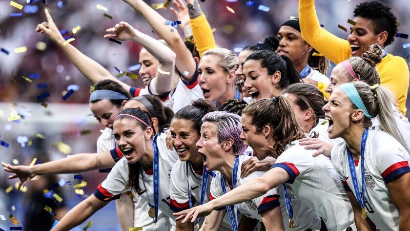 *** BESTPIX *** United States of America v Netherlands : Final - 2019 FIFA Women's World Cup France