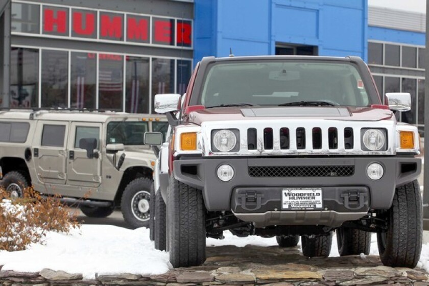 GM plans to revive gas-guzzling Hummer as an electric ...