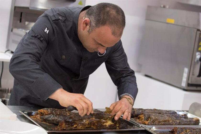 """El chef Ángel León recibirá el premio en Nueva York """"por su contribución a la gastronomía internacional siendo uno de los referentes mundiales"""", informó en un comunicado la New York Summit 2018, entidad organizadora del evento. EFE/Archivo"""