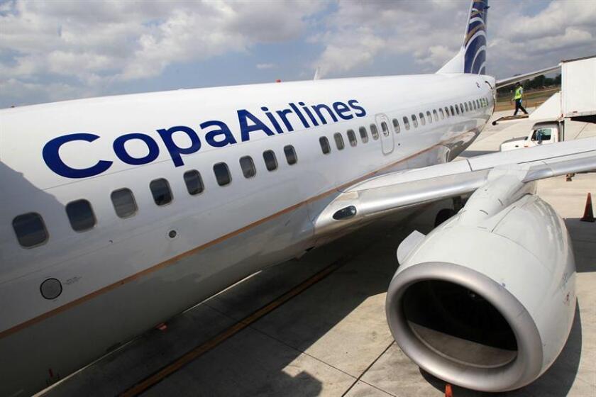 Copa Airlines anunció hoy que ha restablecido la segunda frecuencia diaria entre San Juan, Puerto Rico, y el hub de las Américas en el Aeropuerto Tocumen en Panamá, cuya frecuencia había sido suspendida a causa del paso del huracán María. EFE/Archivo