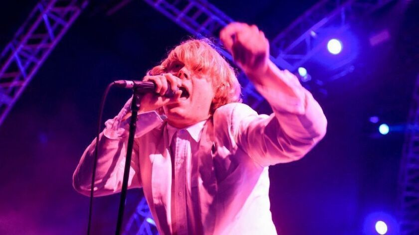 Ty Segall, shown in concert, has bought a glass-and-wood estate with sweeping canyon views.