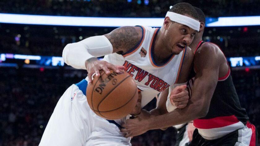 NBA: Porzingis and Rose help lift the Knicks