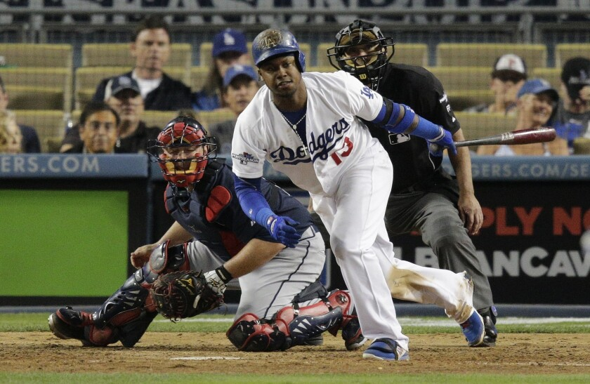 Hanley Ramirez plays despite aches, and Dodgers foes feel the pain