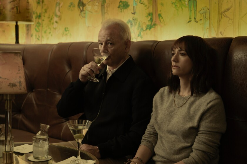 Bill Murray and Rashida Jones in Sofia Coppola's 'On the Rocks.'