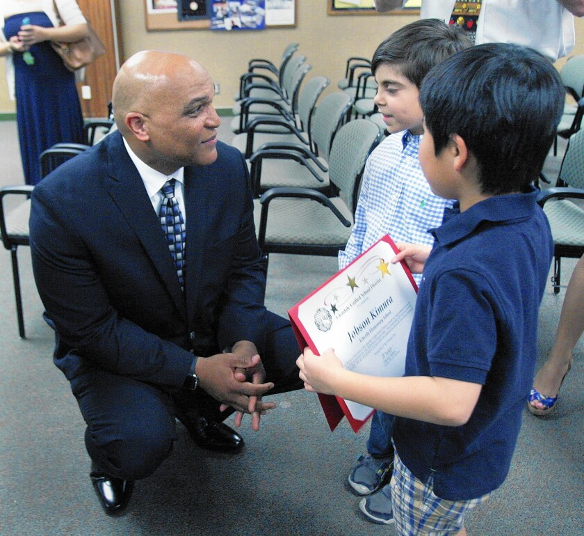 Winfred Roberson Jr. hired as new Glendale Unified superintendent