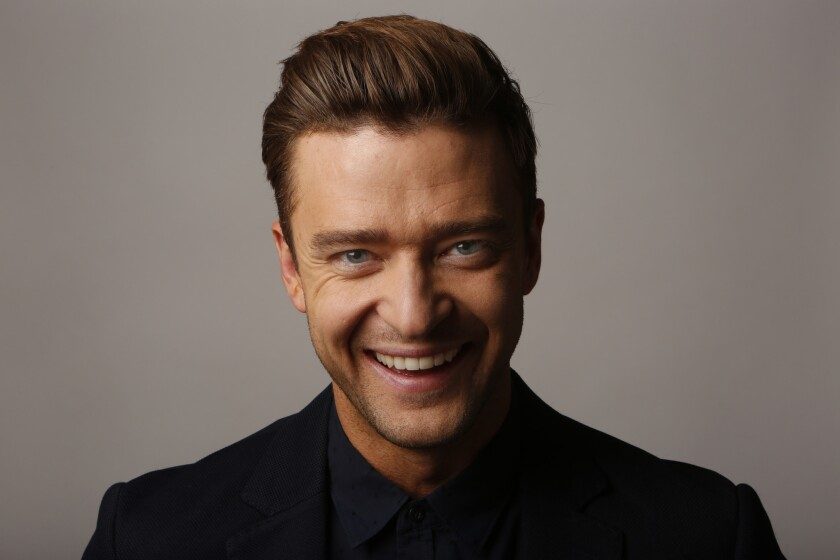 """Justin Timberlake oversaw the music for the new animated movie """"Trolls."""""""