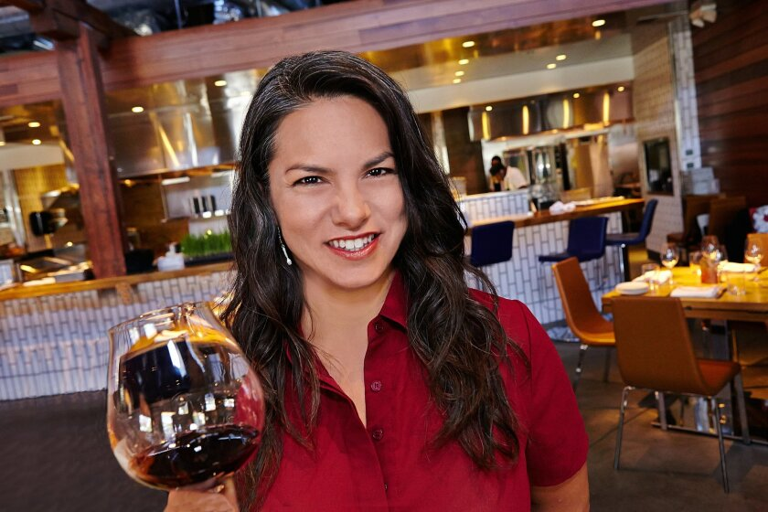 Sommelier Tami Wong.