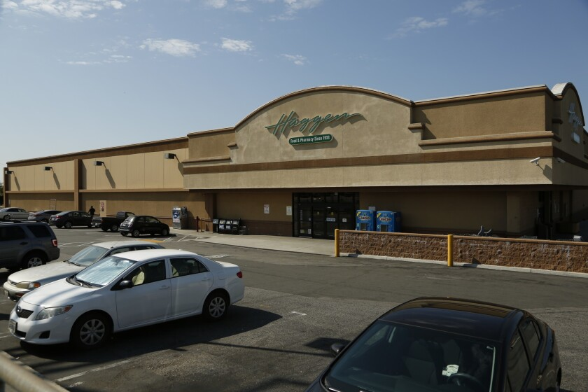 Supermarket chain Haggen said Monday that Gelson's Markets and Smart & Final are interested in buying some of Haggen's locations in California and Nevada.