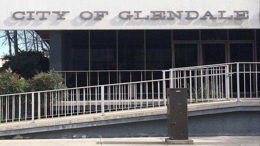 Glendale city sign