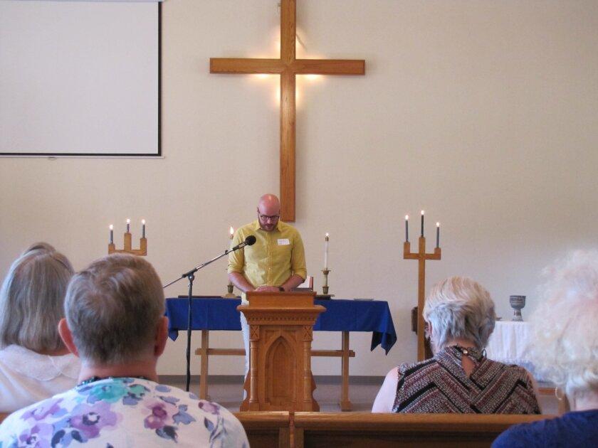 Grove United Methodist Church in Cottage Grove, Minn