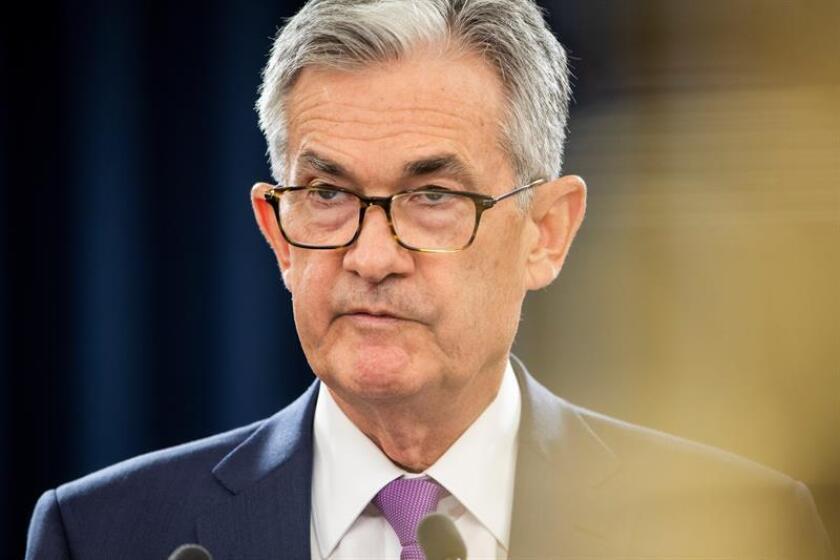 Federal Reserve Board Chairman Jerome Powell. EFE/EPA/FILE