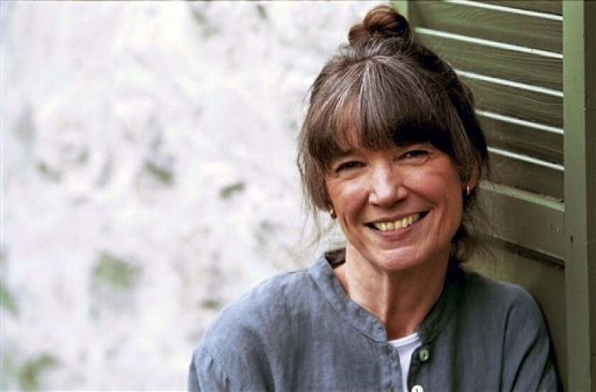 """This undated image provided by Knopf shows author Anne Tyler. For nearly 50 years Tyler has been making it up _ and telling the truth _ about love, family, work and death. Readers and critics have welcomed her. She is a consistent best seller won the Pulitzer Prize in 1989 for """"Breathing Lessons"""" and this spring is receiving a lifetime achievement award from the Sunday Times in London. Her new novel is called """"The Beginner's Goodbye."""" (AP Photo/Knopf, Diana Walker)"""