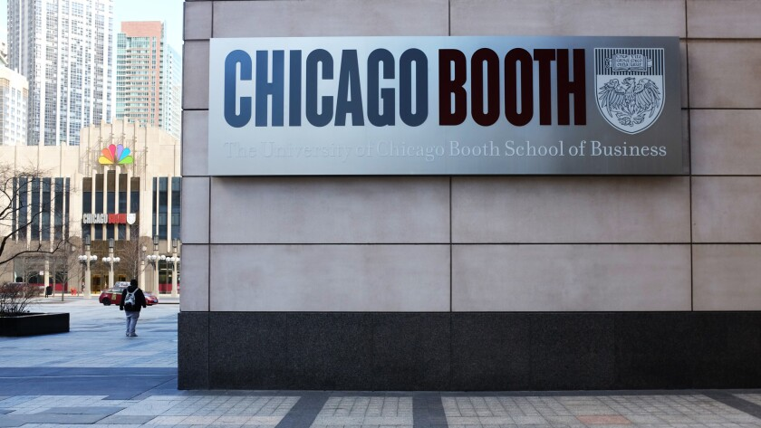 For the first time, the University of Chicago's Booth School of Business has been named the nation's top business school by U.S. News & World Report, which released its annual rankings on March 20, 2018.