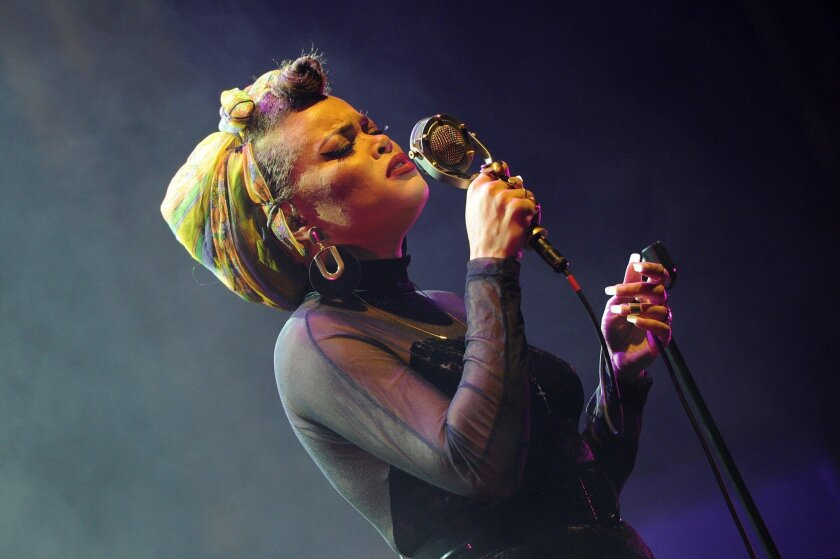 Andra Day recently performed at The Theatre at Ace Hotel in downtown Los Angeles on January 21.