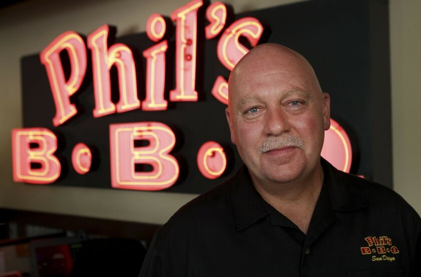 Phil's BBQ owner Phil Pace will be serving for charity during the Aug. 6 Phil's Big BBQ at the Ballpark to benefit Operation Bigs.