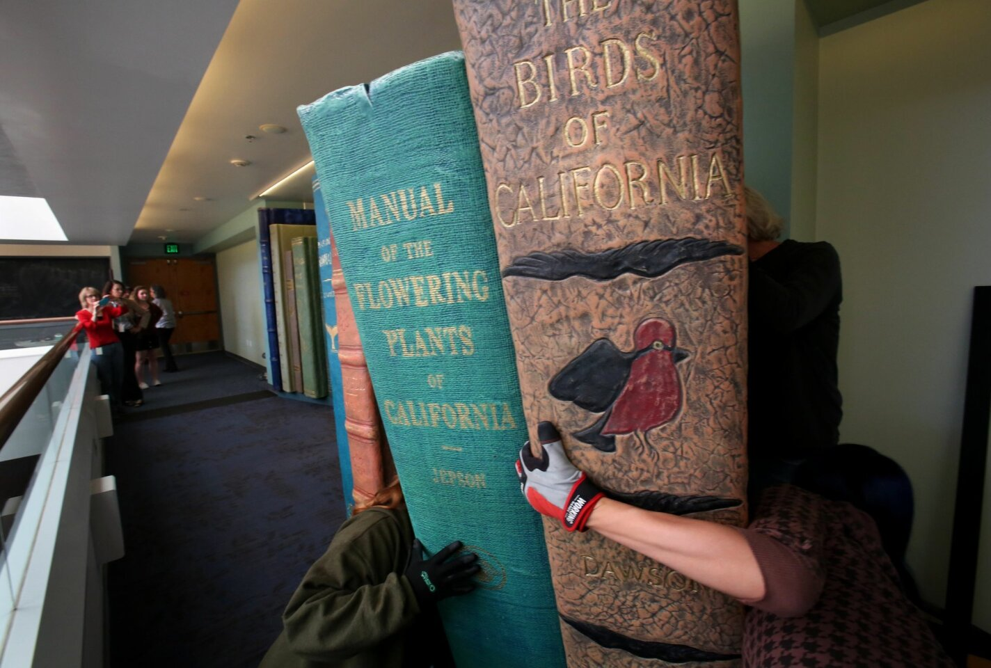 Rare books exhibit installed at the NAT