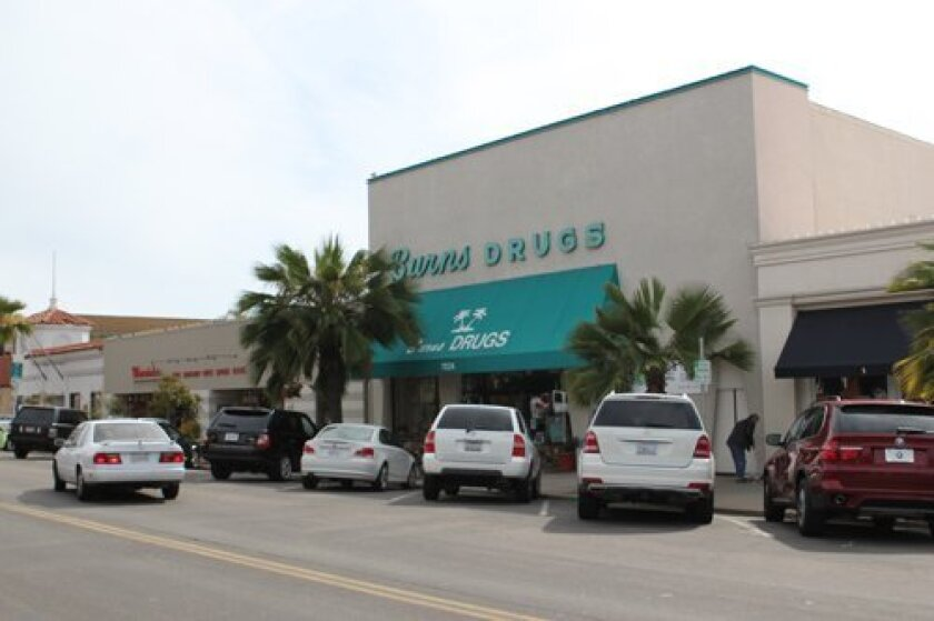 Burns Drugs closed its door in May 2014, after more than six decades in business on Girard Avenue in the Village of La Jolla.