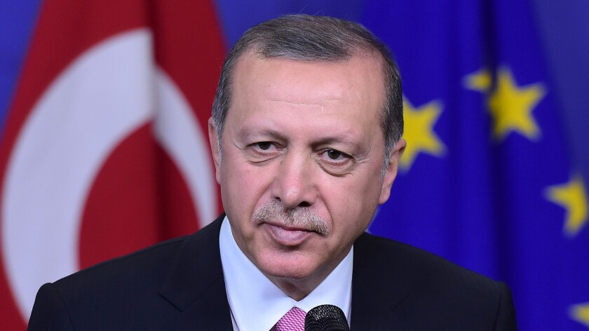 Turkish President Recep Tayyip Erdogan, pictured speaking last year, has apologized to Moscow for the November downing of a Russian military jet at the Syrian border.