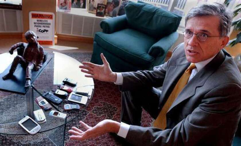 New FCC Chairman Tom Wheeler (seen here in his previous role as president of the Cellular Telecommunications & Internet Assn.), has named his team.