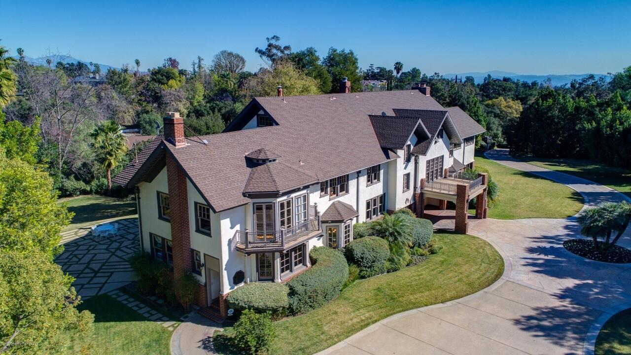 Carmen Puliafito's Pasadena home