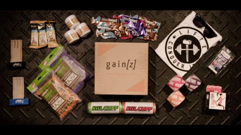 Gain[z] subscription box.