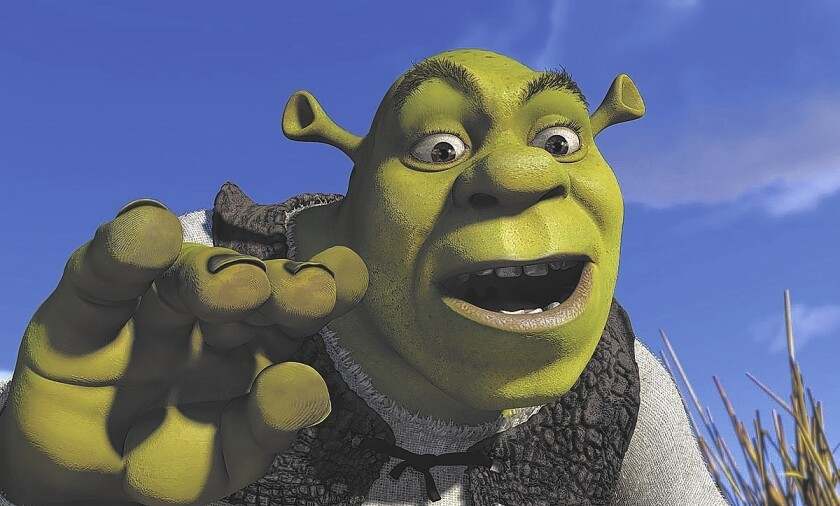 DreamWorksTV will feature familiar DreamWorks Animation characters such as Shrek, above, Puss in Boots and Po, but most of the programming will consist of new characters aimed at the Internet generation.