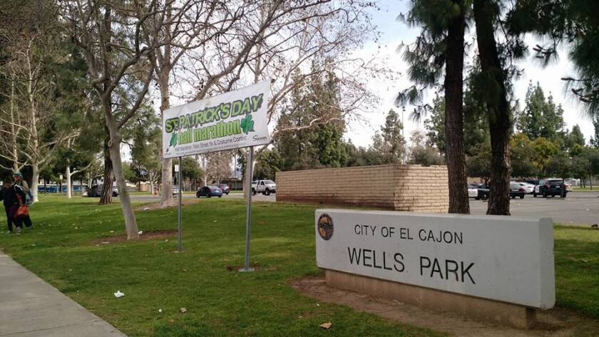 """Wells Park, the largest park in the city of El Cajon, is one of 17 parks in the city. The city is looking for more opportunities to build parks in the future as El Cajon is considered """"underparked"""" by national standards."""