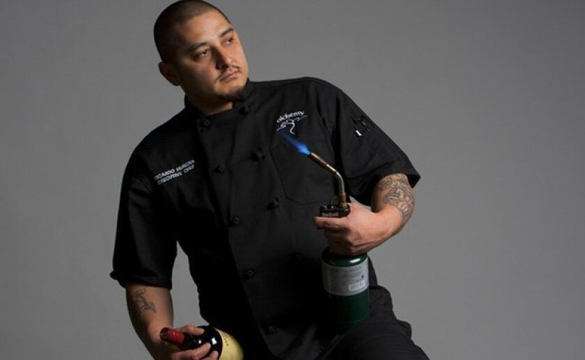 Ricardo Heredia, executive chef at Alchemy Restaurant and U-T Superdiner.