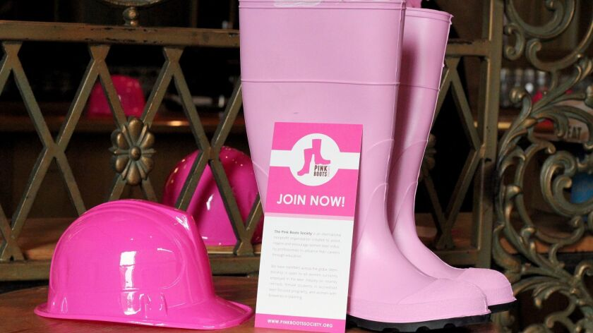 Pink Boots Society members meet twice a year, at national brewery conferences, to mingle, network an