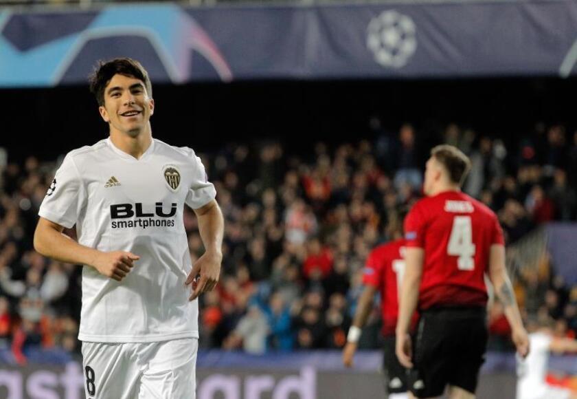 2-1. Un sólido Valencia no da opción al United