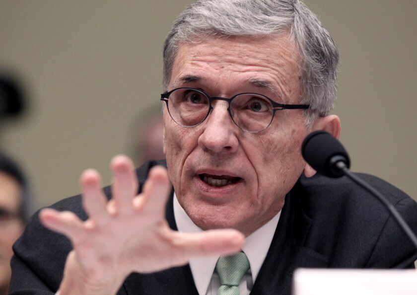 FCC Chairman Tom Wheeler has proposed opening up the set-top box market to technology companies and app makers. Seven large media companies said Friday that the proposed rules would undermine the delivery of their content.