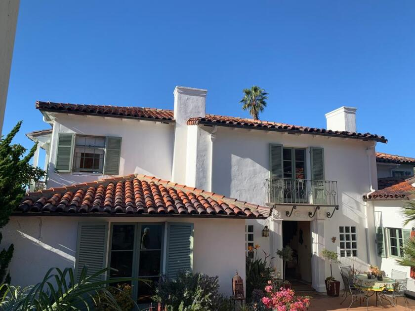 The now historically designated property at 1802 Amalfi St. in La Jolla was designed in the Spanish Revival style.