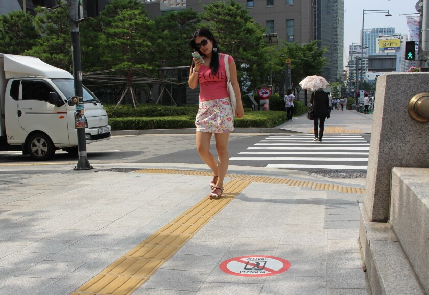 A common sight in Seoul.