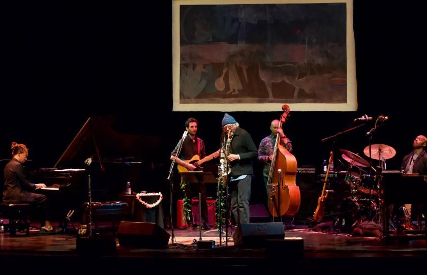 Charles Lloyd and his band