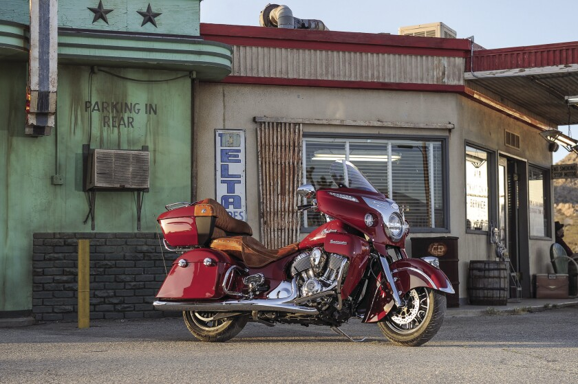 Polaris-owned Indian Motorcycles has put a big bagger on the road, with the 2015 Indian Roadmaster.