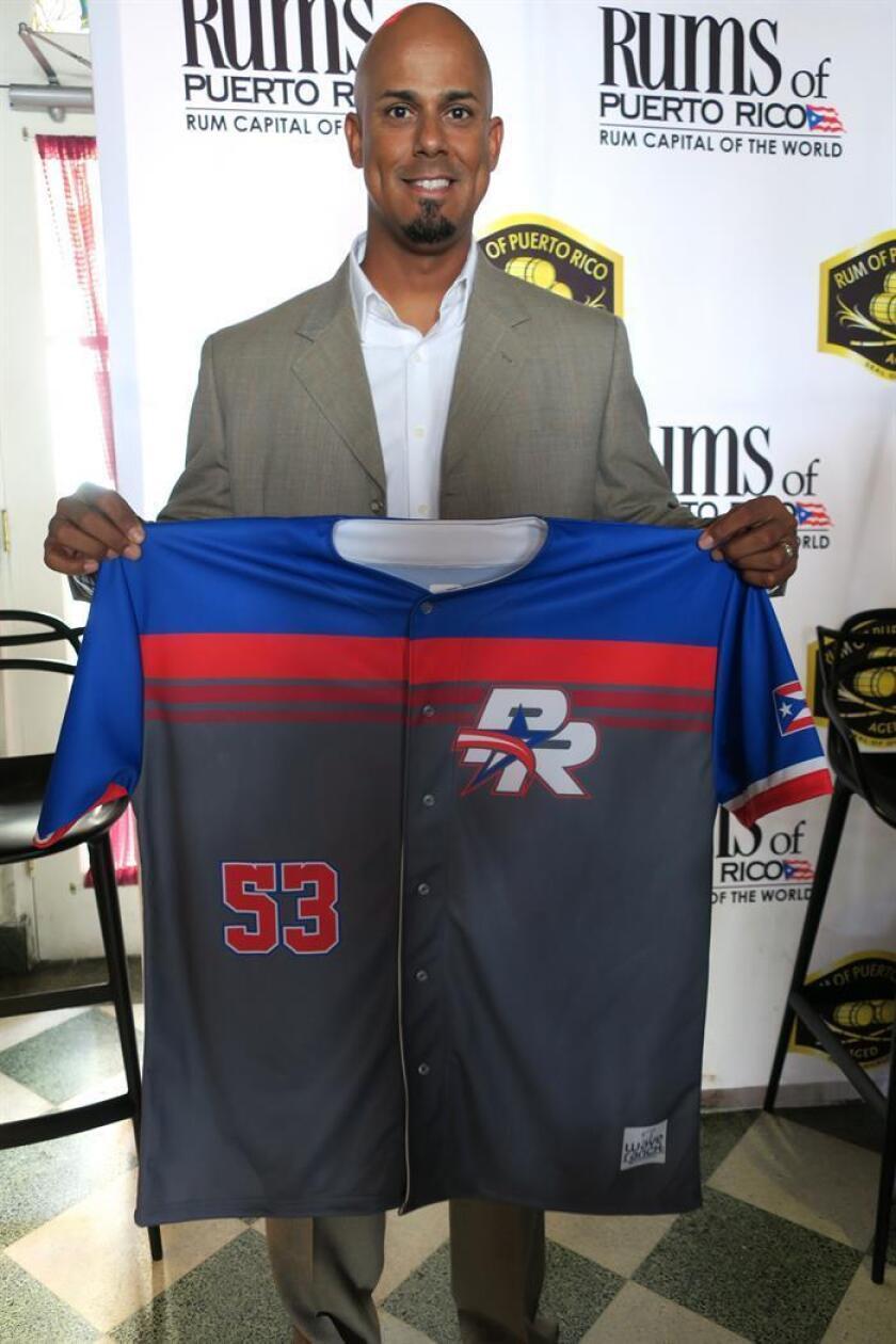 El dirigente del equipo de béisbol los Criollos de Puerto Rico, Luis Matos. EFE/Archivo